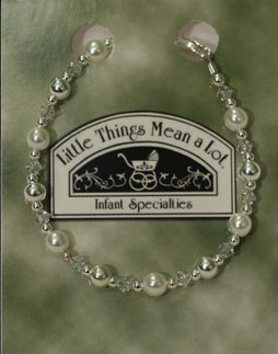 BRACE1- Pearl and Sterling Silver Bracelet