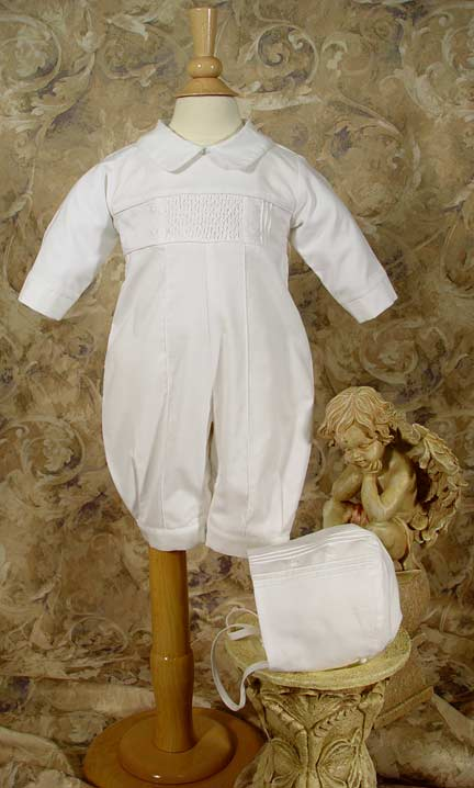 Close-up of Christening Outfit