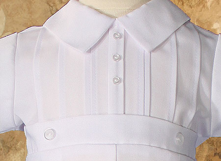 Close-up of Christening Outfit Bodice