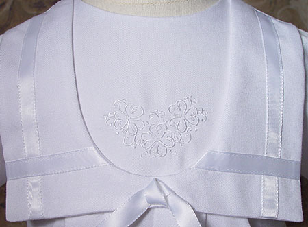Irish Christening Outfit Bodice