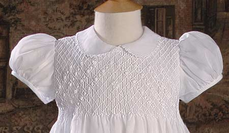 100 Cotton Christening Gowns For Girls Hand Smocked And