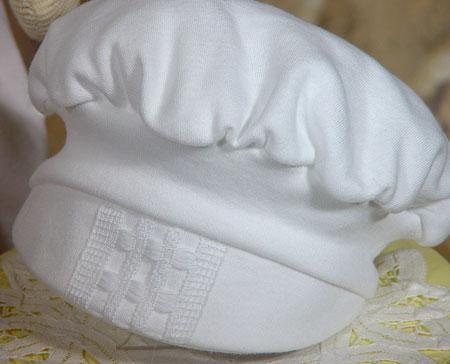 After Christening Hat
